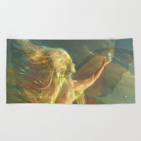 buterfly Beach Towel