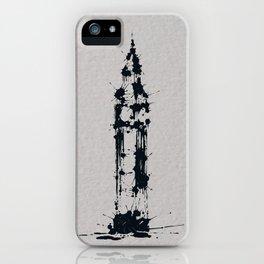 Splaaash Series - Big Ben Ink iPhone Case