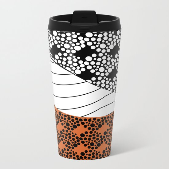 Line 1 Metal Travel Mug