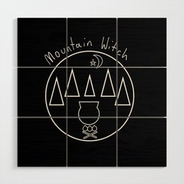 Mountain Witch Wood Wall Art