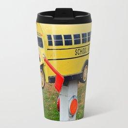 School Bus Mailbox Travel Mug