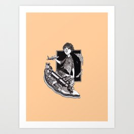 ramdom Art Print