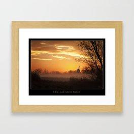 The Golden Hour Framed Art Print