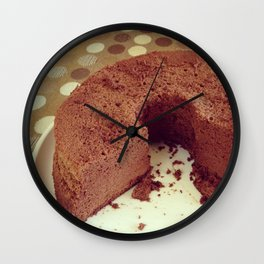 Chocolate Wall Clock