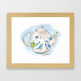 Tea in Wonderland Framed Art Print