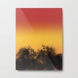 Sunset Seranade Metal Print