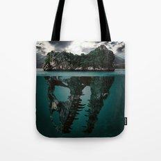 Mystere island Tote Bag