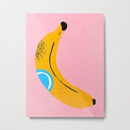 Banana Pop Art Metal Print