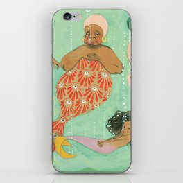 Everyone a Mermaid iPhone Skin