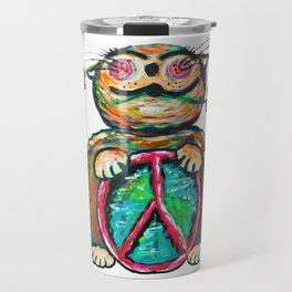 Peace Chubbycat Travel Mug