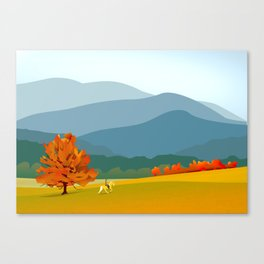 Smoky Mountain Trail Canvas Print