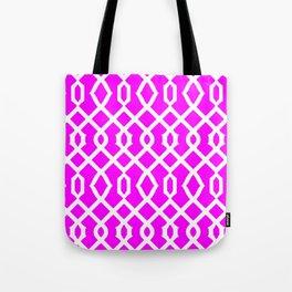 Grille No. 3 -- Violet Tote Bag