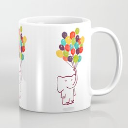 Flying Elephant Coffee Mug