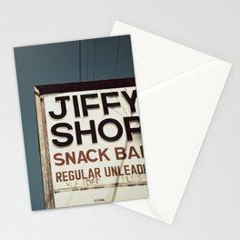 Jiffy Shop Stationery Cards