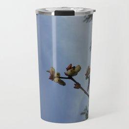 BlueberryBlossoms Travel Mug