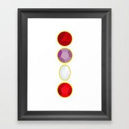 We Are The Crystal Gems Framed Art Print
