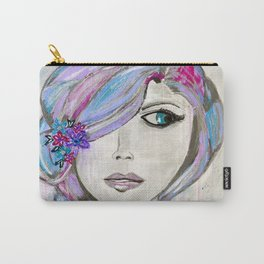 'Colourful Awareness' by Jolene Ejmont Carry-All Pouch