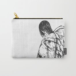 Angel Pregnant Carry-All Pouch