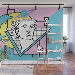 Apollo - Vaporwave - 80s Wall Mural