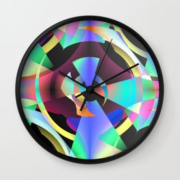 Maladjustments In The Time Continuum Wall Clock