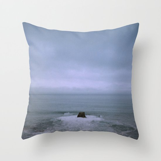 cold stone i Throw Pillow