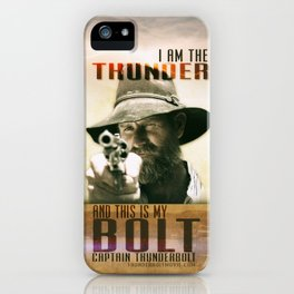 Thunderbolt Movie-I Am The Thunder iPhone Case