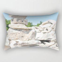 Summer Inuksuk. Rectangular Pillow