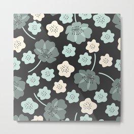 Floral Works Metal Print