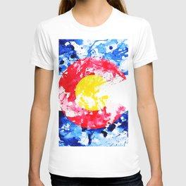 Colorado Watercolor Flag T-shirt
