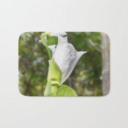 Delicate butterfly tree flower Bath Mat