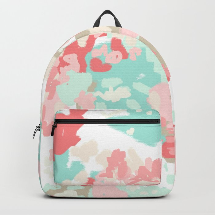 Branch - abstract minimal modern art office home decor dorm gender neutral bright happy painting Backpack