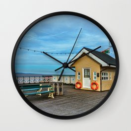 On Penarth Pier Wall Clock