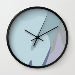 Abstraction XXI Wall Clock