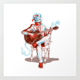 Me and The Devil Blues Art Print
