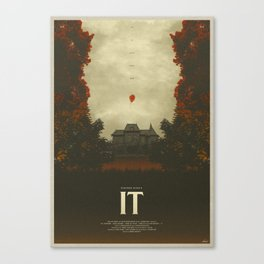 We All Float - It Canvas Print
