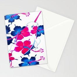 Hawaiian Narwhal  Stationery Cards