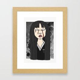 Gogo Yubari - Kill Bill Framed Art Print