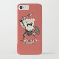 conan iPhone & iPod Cases featuring Conan The Bavarian by Bobby Baxter