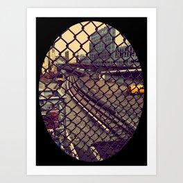 atlantic ave. Art Print