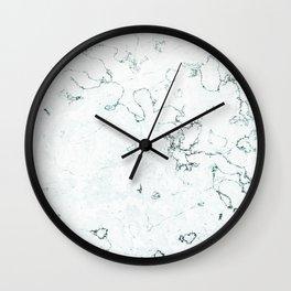 Marble Elegance Wall Clock