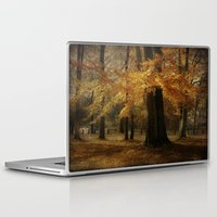 hiccup Laptop & iPad Skins featuring Fall skirt by hannes cmarits (hannes61)