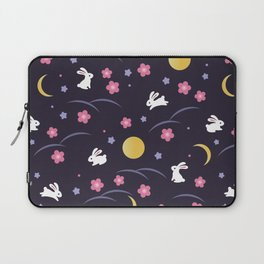 Moon Rabbits V2 Laptop Sleeve
