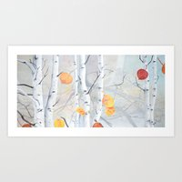 Fall in the Aspens Art Print