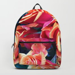Bed of Roses Liberty of London flower market Backpack