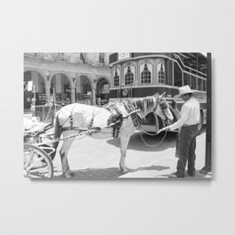 Carriage Metal Print