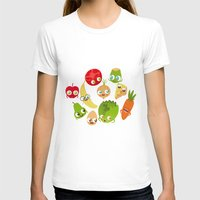 food T-shirts featuring Food by Peerro