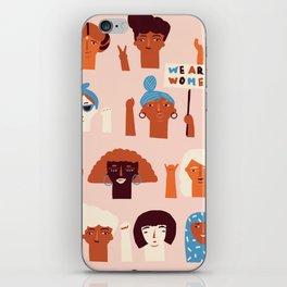 Women day iPhone Skin