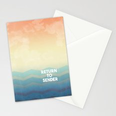 Return to Sender Stationery Cards