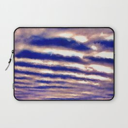 Rows of Clouds Laptop Sleeve