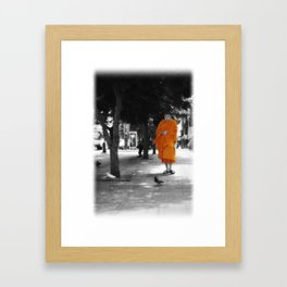Peace Walking Framed Art Print